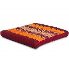 Kapok Seat Cushion, Size L,  orange