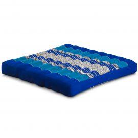 Kapok Seat Cushion, Size L,  blue