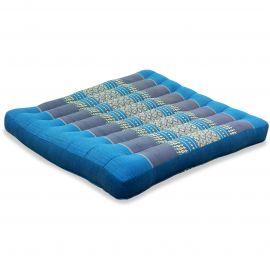 Kapok Seat Cushion, Size L,  light blue