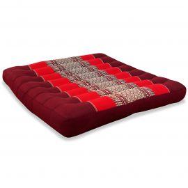 Kapok Seat Cushion, Size L, ruby-red