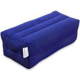 Block pillow (one colour) blue
