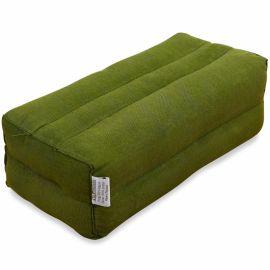 Block pillow (one colour) green