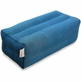 Block pillow (one colour) light blue