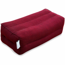 Block pillow (one colour) red
