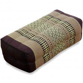 Block pillow, brown