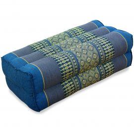 Block pillow, light blue