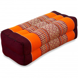 Block pillow, orange