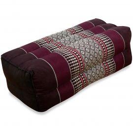 Block pillow, bordeaux