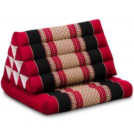 Thai Cushion 1 Fold, red / black