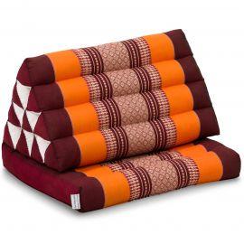 Thai Cushion 1 Fold, orange