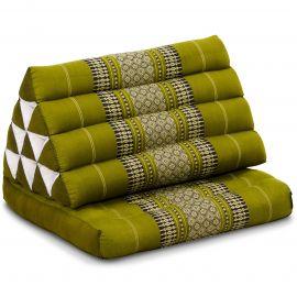 Thai Cushion 1 Fold, green