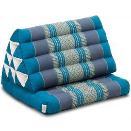 Thai Cushion 1 Fold, light blue