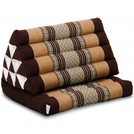Thai Cushion 1 Fold, brown