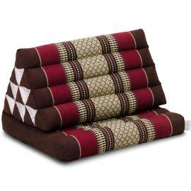 Thai Cushion 1 Fold, bordeaux
