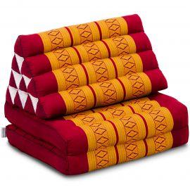 Thai Cushion 2 Fold, red / yellow