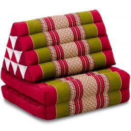 Thai Cushion 2 Fold, red / green