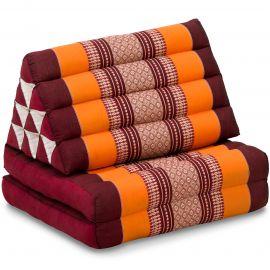 Thai Cushion 2 Fold, orange