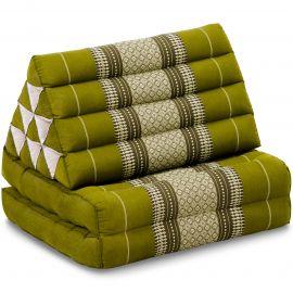 Thai Cushion 2 Fold, green