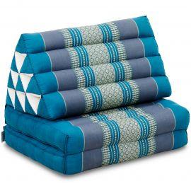 Thai Cushion 2 Fold, light blue