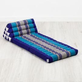 Thai Cushion 2 Fold, blue