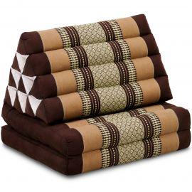 Thai Cushion 2 Fold, brown