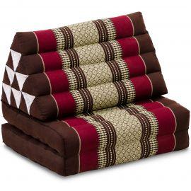 Thai Cushion 2 Fold, bordeaux