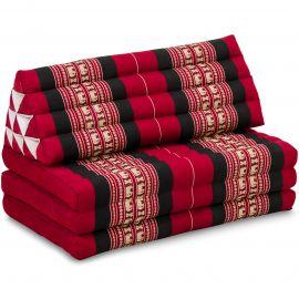 Thai Cushion XXL-Width, red elephants