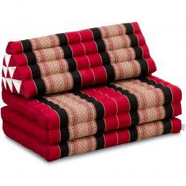 Thai Cushion XXL-Width, red / black