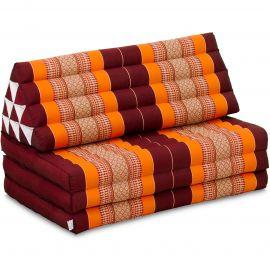 Thai Cushion XXL-Width, orange