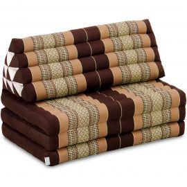 Thai Cushion XXL-Width, brown