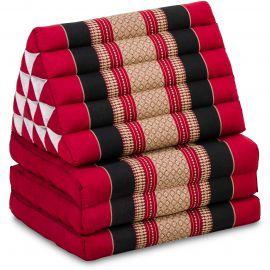 Thai Cushion XXL-Height, red / black