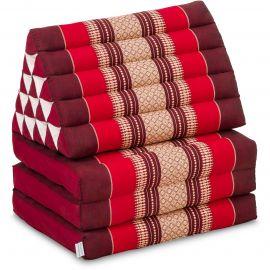 Thai Cushion XXL-Height, ruby-red