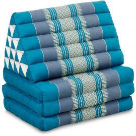 Thai Cushion XXL-Height, light blue