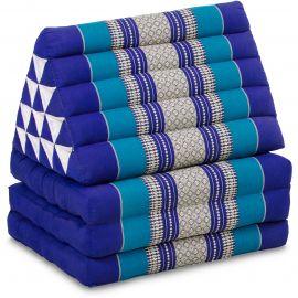 Thai Cushion XXL-Height, blue