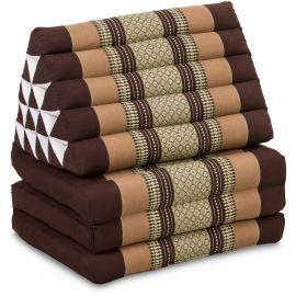 Thai Cushion XXL-Height, brown