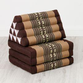 Thai Cushion 3 Fold, brown