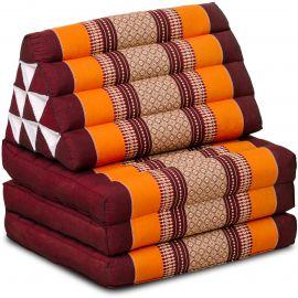 Thai Cushion 3 Fold, orange