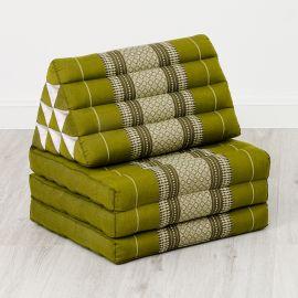 Thai Cushion 3 Fold, green