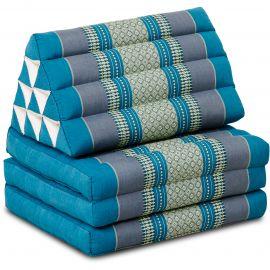 Thai Cushion 3 Fold, light blue