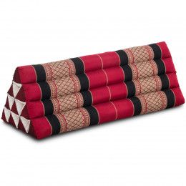 Triangle Cushion XXL-Width, red / black