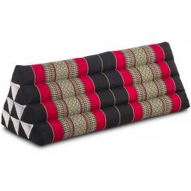 Triangle Cushion XXL-Width, black / red