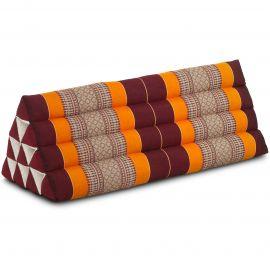 Triangle Cushion XXL-Width, orange