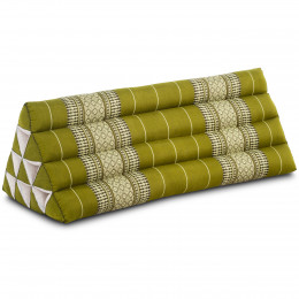 Triangle Cushion XXL-Width, green