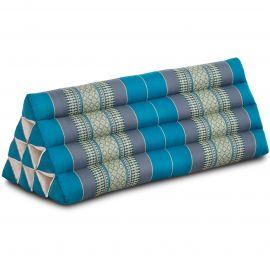 Triangle Cushion XXL-Width, light blue