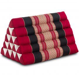Triangle Cushion XXL-Height, red / black