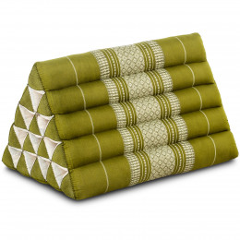 Triangle Cushion XXL-Height, green