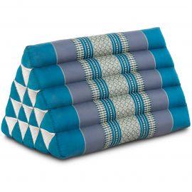 Triangle Cushion XXL-Height, light blue