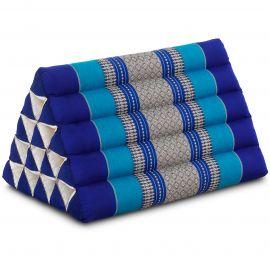 Triangle Cushion XXL-Height, blue