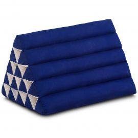 Triangle Cushion XXL-Height, monochrome, blue