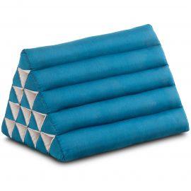 Triangle Cushion XXL-Height, monochrome, light blue